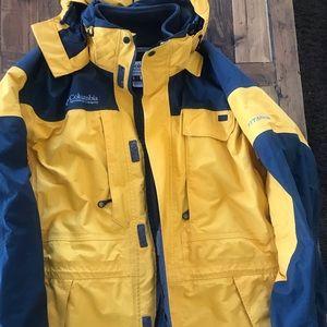 Columbia Omni Tech Breathable Waterproof Jacket